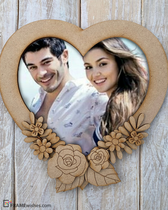 Best Heart Shaped Picture Frame