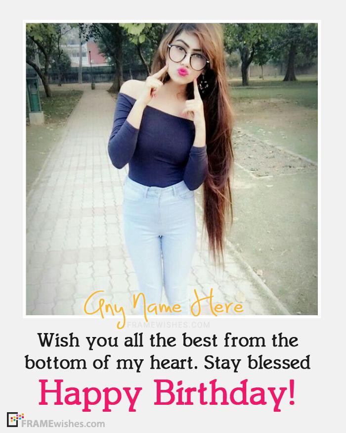 Happy Birthday Wishes Online Photo Editing