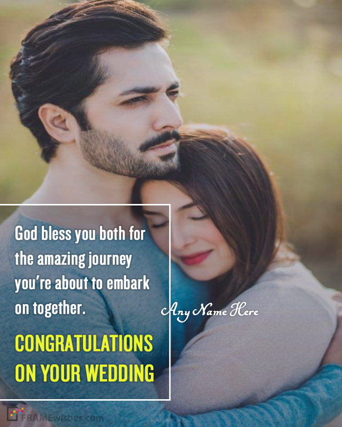 Create Marriage Frame With Photo