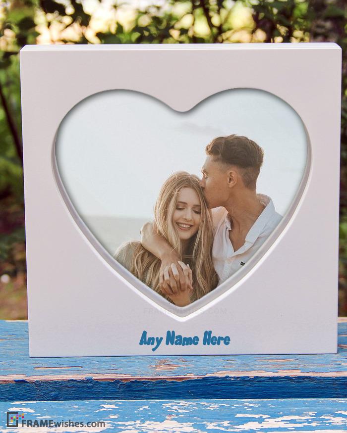 Custom Photo Frames Love Hearts