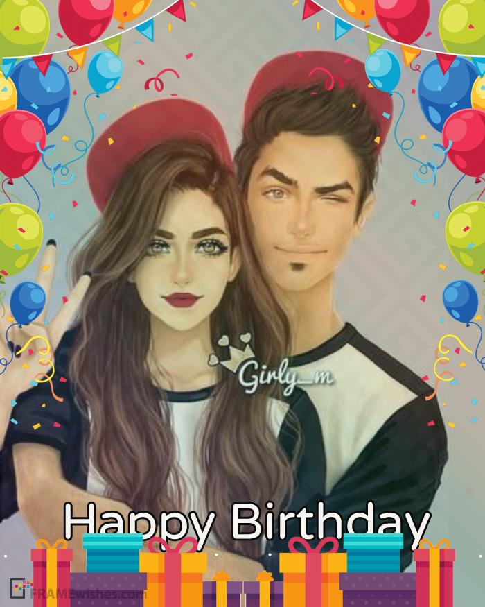 Customize Birthday Frame Editor Online