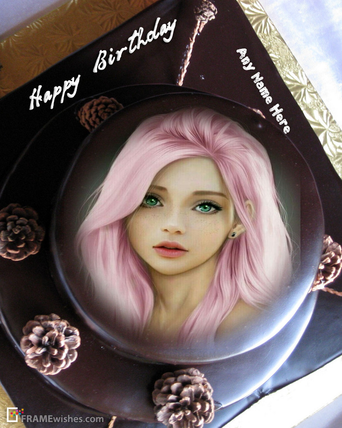 Free Happy Birthday Cake With Photo Edit Option
