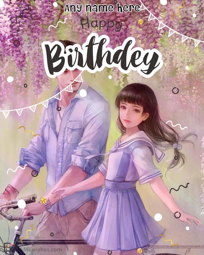 Happy Birthday Photo Frame Upload Online