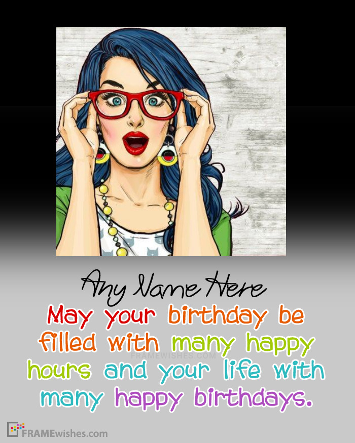 Happy Birthday Quotes Photo Frame