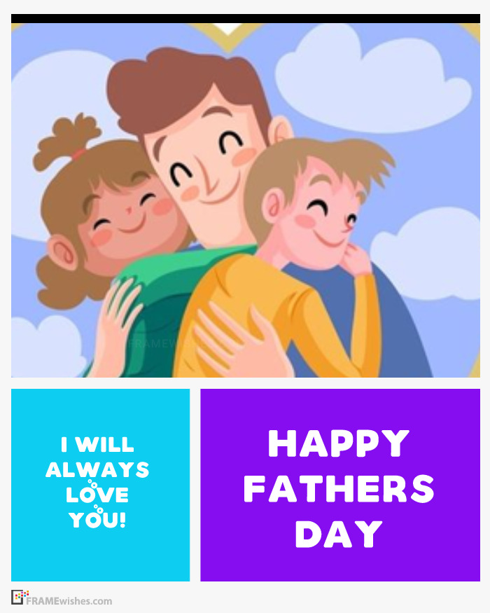 Happy Father's Day Photo Frame Online Free