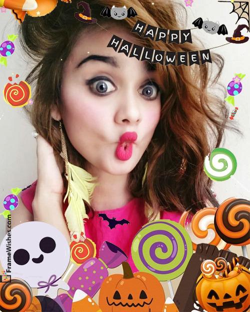 Happy Halloween Photo Frame Free Online Edit