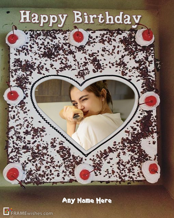 Personalize Cake With Photo Online