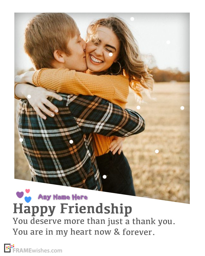 Send Friends Photo Frames With Wishes
